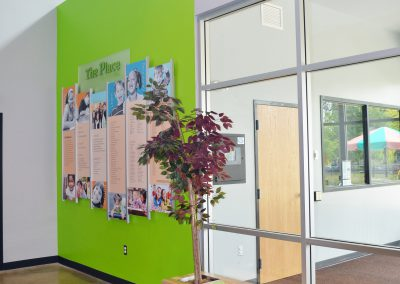 Boys and Girls Club donor wall