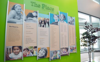 Boys and Girls Club Celebrate Donors with Recognition Wall