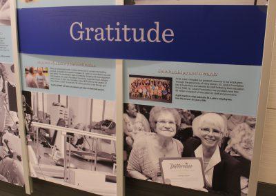 Hospital History Wall - Cedar Rapids, IA