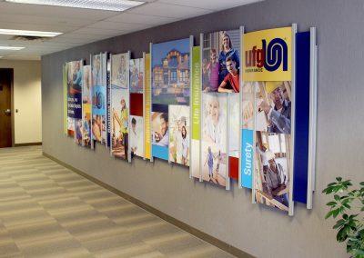 Corporate Branding Wall 4