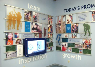 Digital Donor Recognition Walls