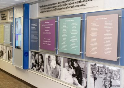 hospital-donor-wall-digital-interactive-rail-wall-system